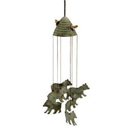 Bear & Beehive Wind Chime
