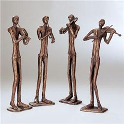 Jazz Quartet Sculptures
