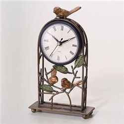 Sparrow Table Clock