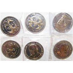 (5X The Bid) Presidential Tribute Coins.
