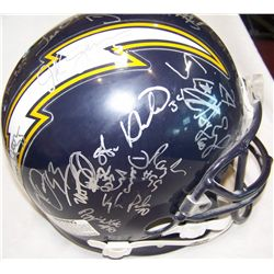 San Diego Chargers Signed Helmet.