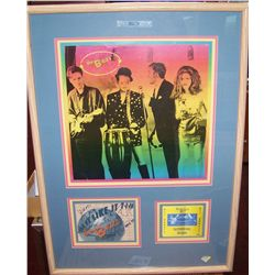 "B-52""s Framed Memorabilia Display"