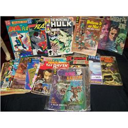 Lot of (19) Assorted Comic Books  As Shown.