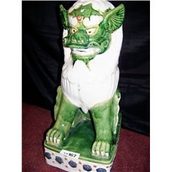 CHINESE ANTIQUE TEMPLE LION