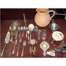 (27) Assorted Pieces of Silver Plate Flatware...