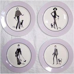 Ruben Toledo Nordstrom Ltd. Ed. Collectible Plates.