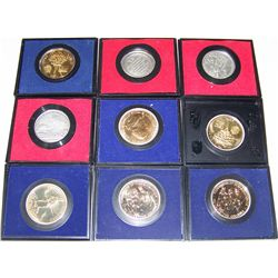(9X$) AMERICA'S FIRST MEDALS & BICENTENNIAL COMMEMORATIVES.