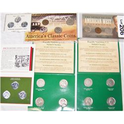 (6X The Bid)  Early Penny and Nickel Sets.