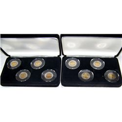 (2X The Bid)  Vatican Coin Sets. Uncirculated.