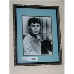 GEORGE TAKEI Signed STAR TREK Picture.