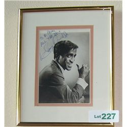 Sammy Davis JR. Signed & Dedicated Picture.