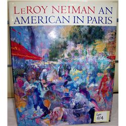 "LeRoy Neiman ""An American in Paris"" Hand-Signed 1994 Book"
