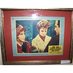 "JULIE ANDREWS Signed Vintage ""Torn Curtain"" Movie Promo."