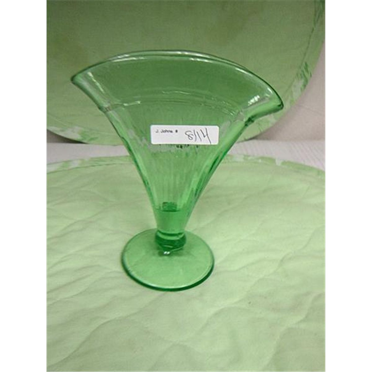 Green depression glass fan vase reviewsmspy