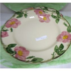 5 Desert rose Franciscan ware dinner plates