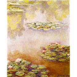 Nympheas - Monet - Limited Edition on Canvas