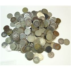 400  V nickels  avg circ  all have dates