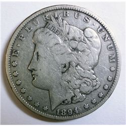 1894  Morgan $  Fine----  fine GS bid = $1100