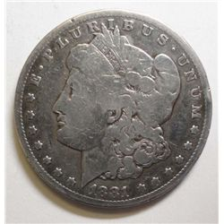 1881CC Morgan $ VG  VG GS bid = $305
