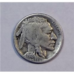 1918S Buffalo nickel  over half horn fine   VF GS bid = $75