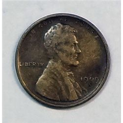 1909S   Lincoln penny  VF near perfect color