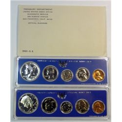 1965, 1966, 1967, U.S. Special Mint Sets, nice original packaging