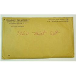 1960 U.S. Mint Set in sealed original envelope