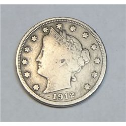 1912S V nickel Full Liberty Fine