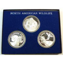 North American Wildlife silver collection