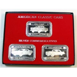 American Classic Cars silver collection