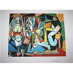 Limited Edition Picasso - Couple Relaxing - Collection Domaine Picasso