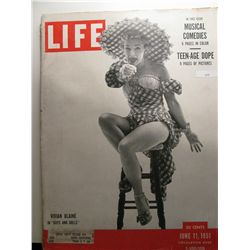 "June 1951 Life Magazine; Vivia Blaine in ""Guys and Dolls"""