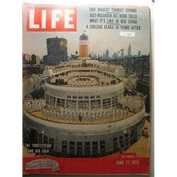 June 1955 Life Magazine; The 'Constitution' and Her Crew