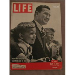 May 1951 Vintage Life Magazine; Cover: Blair Moody, And His Sons.
