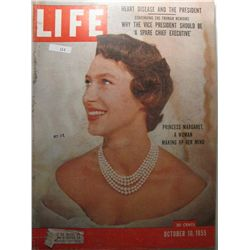 October 1955 Life Magazine; Princess Margaret