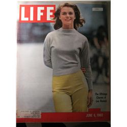 Vintage June 1960 Life Magazine; Cover: the Offstage Charms of Lee remake