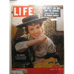 March 1956 Life Magazine; Julie Andrewes