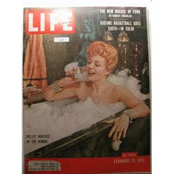 February 1955 Life Magazine; Shelly Winters