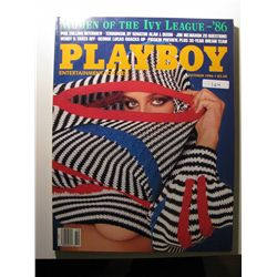 October 1986 Playboy Magazine