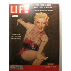 March 1955 Life Magazine; Sheree North Takes Over from Marilyn Monroe