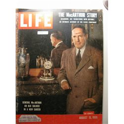 August 1955 Life Magazine; General Mac Arthur