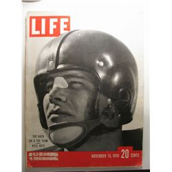 November 1950 Life Magazine; Kyle Rote Ohio College Football