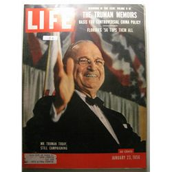 January 1956 Life Magazine; Mr. Truman