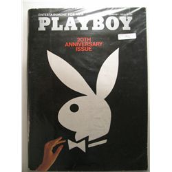January 1974 Playboy; 20th Anniversary issue