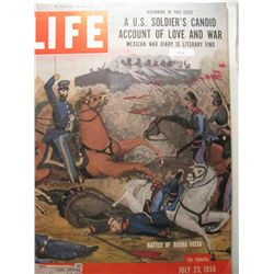 July 1956 Life Magazine; Battle of Buena Vista