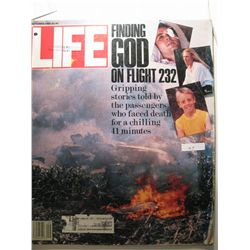 September 1989 Life Magazine; Finding God on Flight 232