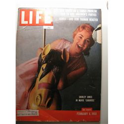 February 1956 Life Magazine; Shiley Jones in Movie Carousel