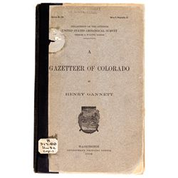 CO - 1906 - Gazetteer of Colorado