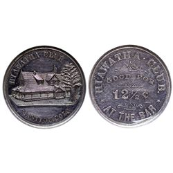 CO - Manitou,El Paso County - c1900 - Hiawatha Club Token