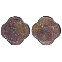 Dakota North - Sharon,Steele County - c1905 - R&B Token